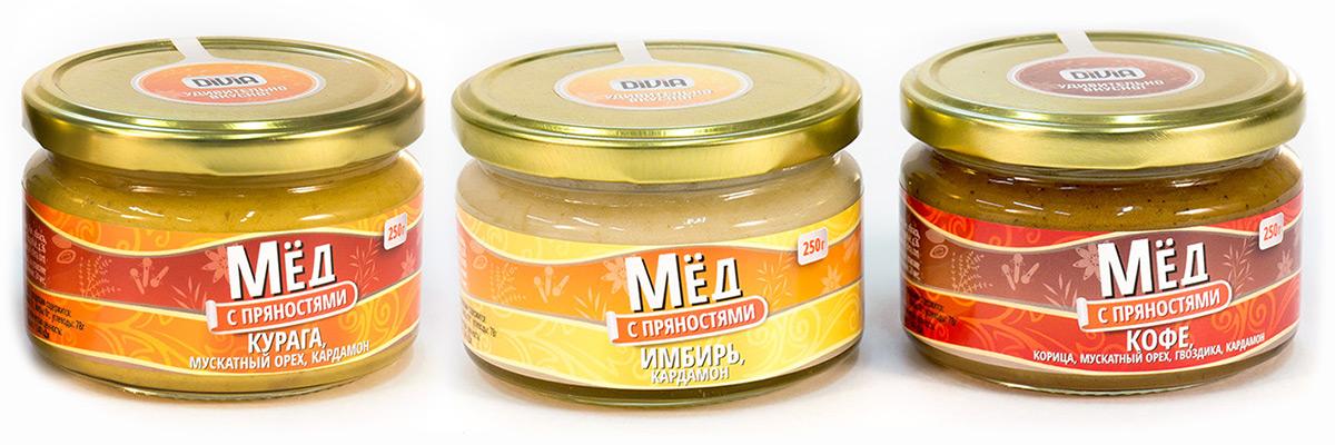 «Роспланта» предложила покупателям новинку – мёд с пряностями DIVIA